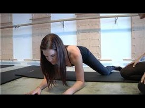 Pilates Exercises : How to Do a Frog Stretch