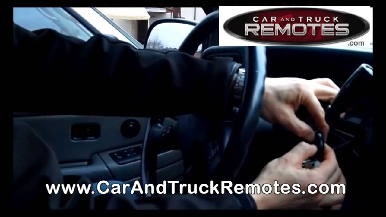 Gmc Envoy Suv Replacement Remote Programming 2002 2009 Youtube