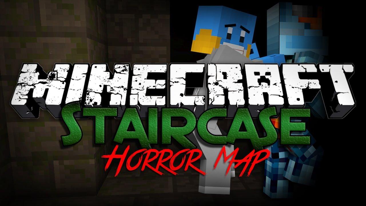 Minecraft Horror Map: Staircase - RUN QUENTIN RUN!