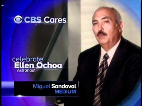 Miguel Sandoval Celebrates Ellen Ochoa