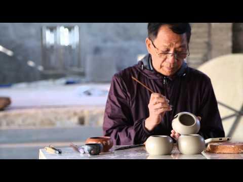 Artisan Jian Shui Pottery Teapot ( Purple Pottery teapot / artisan teapot)