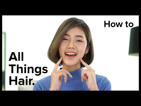 เปลี่ยนผมยาวเป็นสั้น แบบไม่ต้องตัด โดย Archi!   All Things Hair - How To
