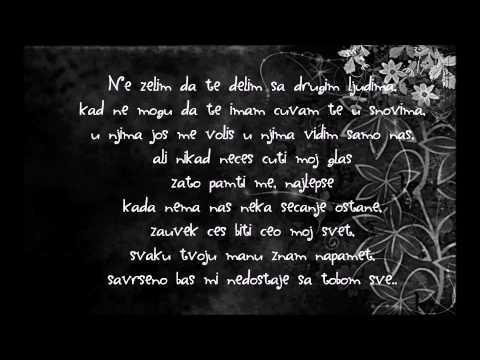 Aleksa Jelić feat Tijana Bogićević-JOS JEDNOM/tekst