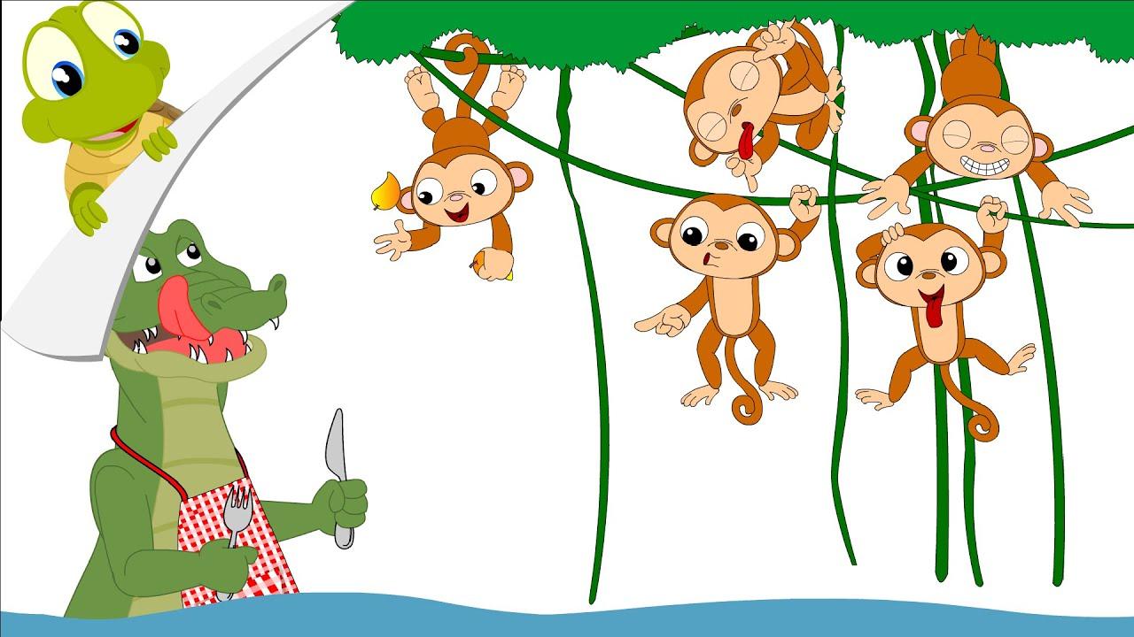 Five Little Monkeys Nursery Rhyme