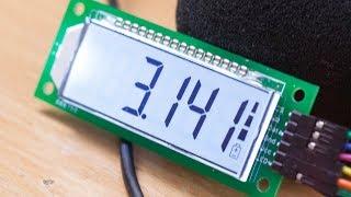 Сегментный ЖК-модуль с контроллером HT1621