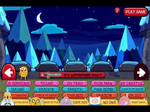 ADVENTURE TIME - SOUND CASTLE 2 - Cartoon Network Games - Soundboard