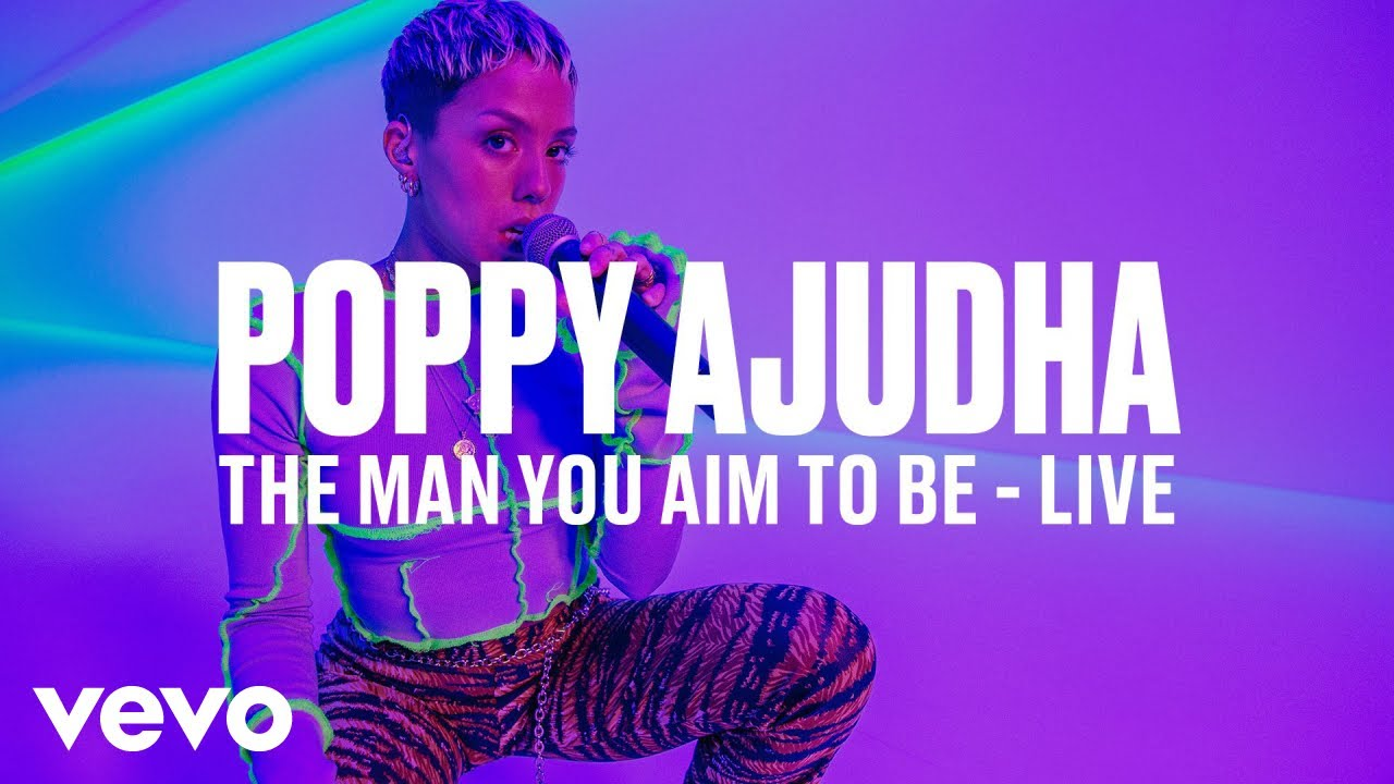 Poppy Ajudha — The Man You Aim to Be (Live) | Vevo DSCVR