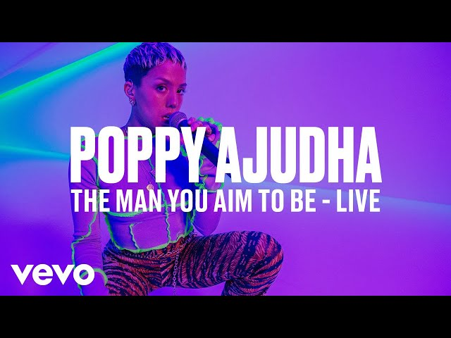 Poppy Ajudha - The Man You Aim to Be (Live) | Vevo DSCVR