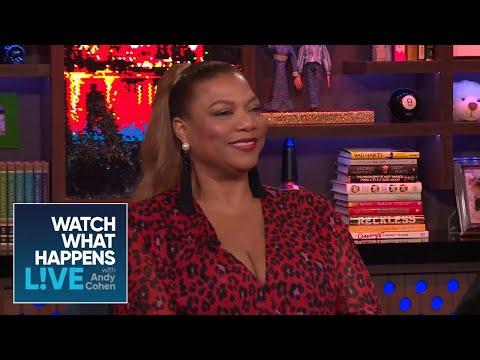 Queen Latifah Responds To Luann De Lesseps' Comparison  RHONY  WWHL
