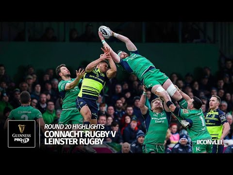 Round 20 Highlights: Connacht Rugby v Leinster Rugby | 2016/17 season