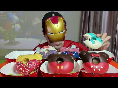 Hong Kong Disneyland Donut Preview Mukbang Eating Show