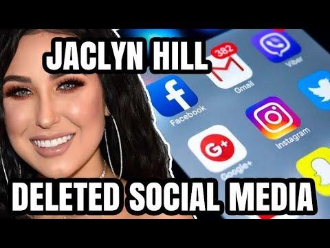JACLYN HILL DELETES INSTAGRAM & TWITTER thumbnail