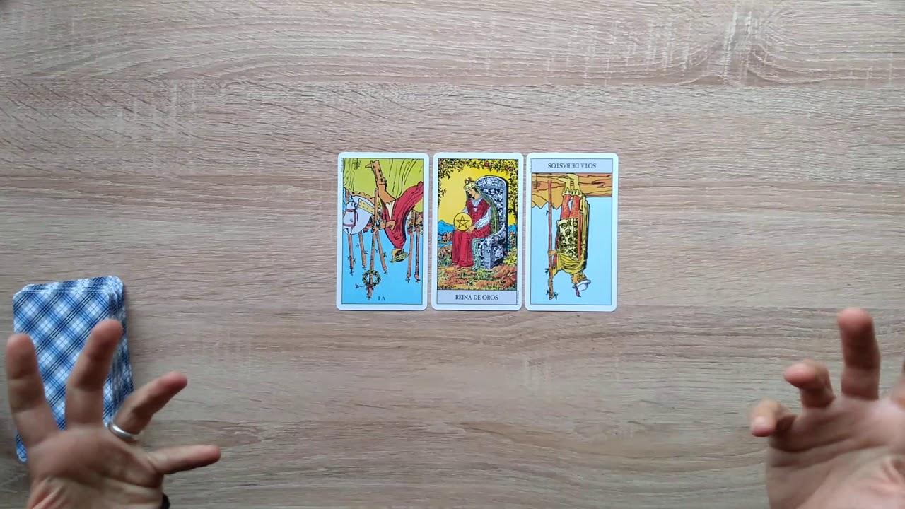 ¿Llegaré a tocar efectivamente de esa herencia? Lectura de Tres Cartas