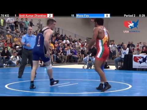 USA vs. India Dual - 2014 NCAA Championships