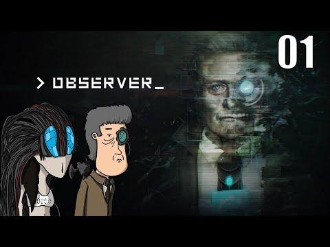 Observer - Let's Play #01 [FR]