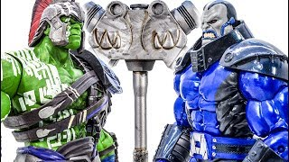 Hulk Family Toys Collection Transform Defeat DarkSeid Rescue Animals And The City #Toymarvel