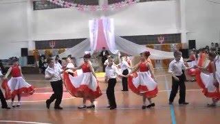 шикарная постановка танца фламенко бал в школе.(бал в школе. танец. постановка.фламенко смешное видео., 2015-12-09T13:17:47.000Z)