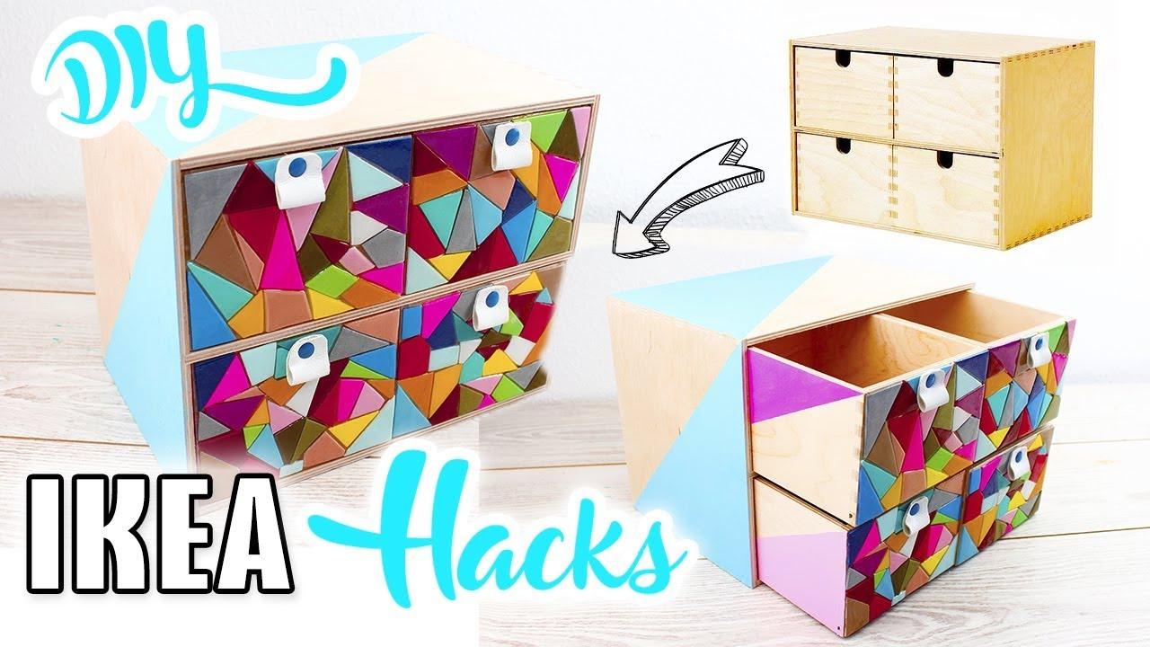 Hacks Diy Mosaicos Una Con Mery Cómoda Ikea Decora Mini UpzGSqMV