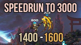 Brawlhalla Speedrun to 3000 ELO | 1400 - 1600