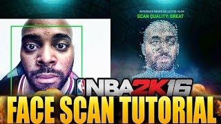 NBA 2K16 Face Scan Tutorial - How To Get The Best Results Possible For MyPlayer