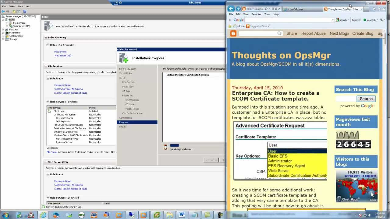 Operations manager 2012 beta series gateway server pt 1 certificate operations manager 2012 beta series gateway server pt 1 certificate template yelopaper Image collections