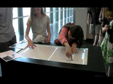 Audiotouch - Multitouch Table @ UCSD Music Center