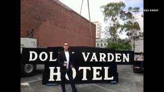 VIDEO: Dolly Varden Hotel co-owner Larry Black on he restoration of the hotel's classic sign.