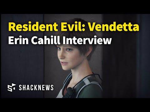 Resident Evil: Vendetta  Erin Cahill  E3 2017