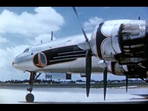 Eastern Lockheed L-1049 Super Constellation Promo Film - 1953
