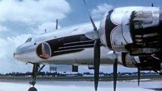 Eastern Lockheed L-1049 Super Constellation Promo Film - 1953