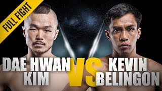 ONE: Full Fight | Dae Hwan Kim vs. Kevin Belingon | RNC Locked In Deep | March 2014