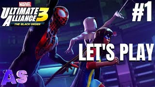 We Doing A Thing Marvel Ultimate Alliance 3- Letand39s Play  Avidan Smith