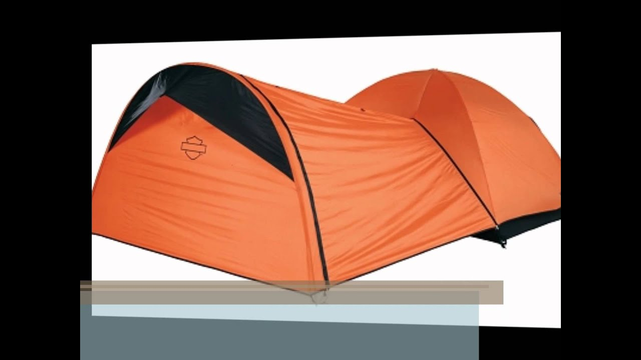 & Harley Davidson Riders Dome Tent - YouTube