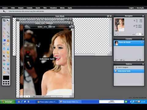 Capa para facebook pelo Photoshop online
