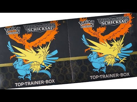 7 HITS AUS EINER BOX!? 2 VERBORGENES SCHICKSAL TOP TRAINER BOXEN! Pokemon Booster Unboxing Opening