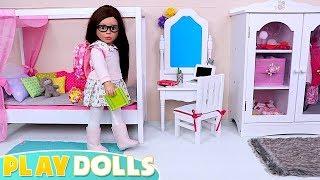 American GIrl Dolls School Morning Routine!