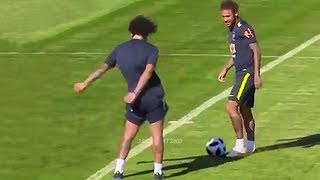 Funny Moments in Training #2 ● Marcelo, Mbappe, Neymar, Ronaldo