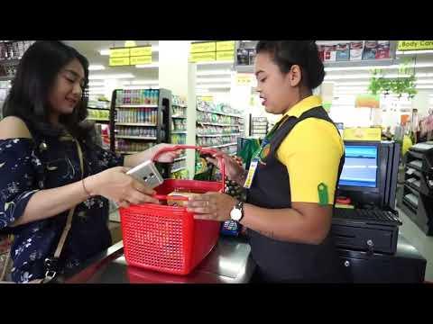 Bayar Dengan TCash Wallet - Metode NFC TAP - Video By Coco Group Bali
