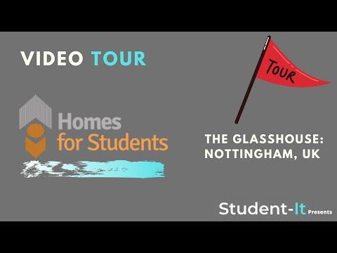 The Glasshouse - Student Accommodation in Nottingham: Accommodation Tour