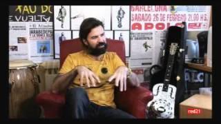 Entrevista al líder de Jarabe de Palo, Pau Donés
