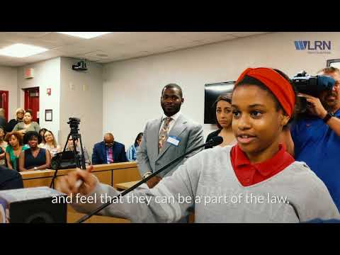 At The Brownsville Middle School's Mock Court, The Kids Are The Ones Calling The Shots