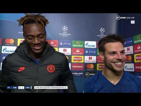 """The Champions League Is Where Chelsea Belongs"" Tammy Abraham And César Azpilicueta Speak Post-match"