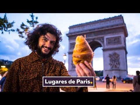 PÃES DOCES E ERICK JACQUIN EM PARIS  Viagem França  Mohamad Hindi