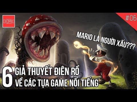 6 giả thuyết điên rồ về Video Game 👽👽👽
