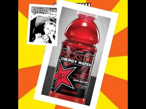 Monster Mike Drink Review # 26 Rockstar Energy Water