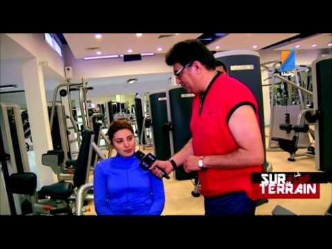 Sur Le Terrain N°32 Fitness ,Nutrition,Régime  TunisnaTV
