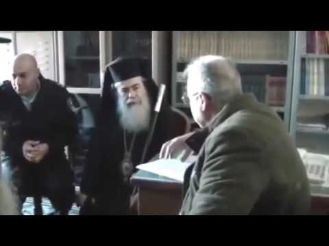 Following an arson at the Greek Orthodox seminary, in Jerusalem, Dr. Moti Zaken meets the Patriarch