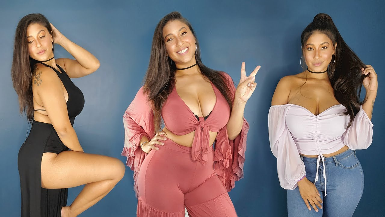 Fashion Nova Curve Try On Haul - During and After Quarantine Edition