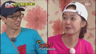 Yoo Jae Suk and Jeon Somin Running man moments (YooMin) part 3