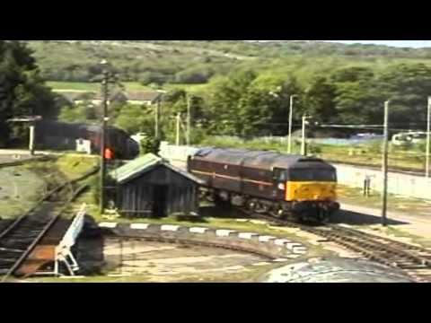 SHUNTING AT WEST COAST RAILWAY COMPANY  CARNFORTH 24 TH MAY 2009